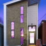 Narrow Modern Infill Tiny House