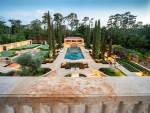Versailles Inspired Back Garden
