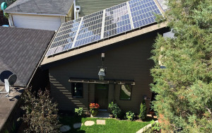 Solar Panel Roofing System