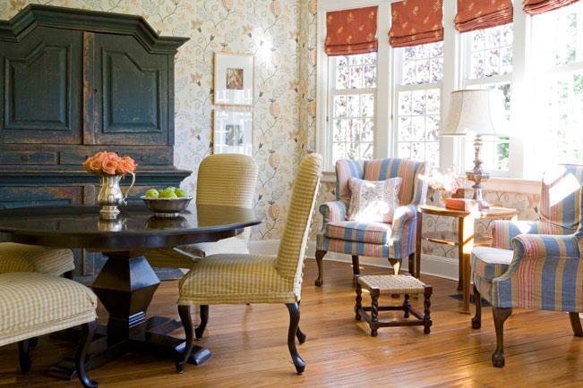 Decorative shelves for living room