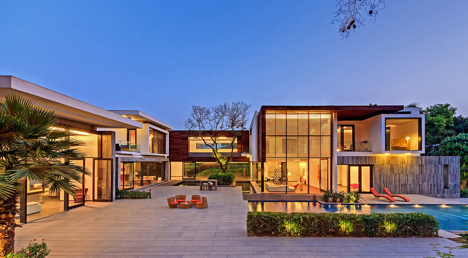 Modern Private Residence New Delhi India