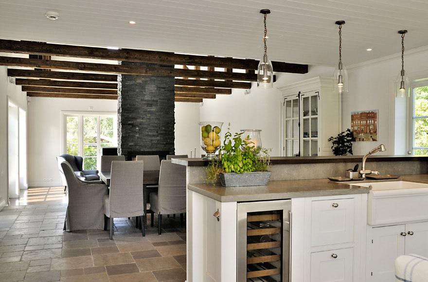 New England Style Dream Villa In Sweden | iDesignArch | Interior ...