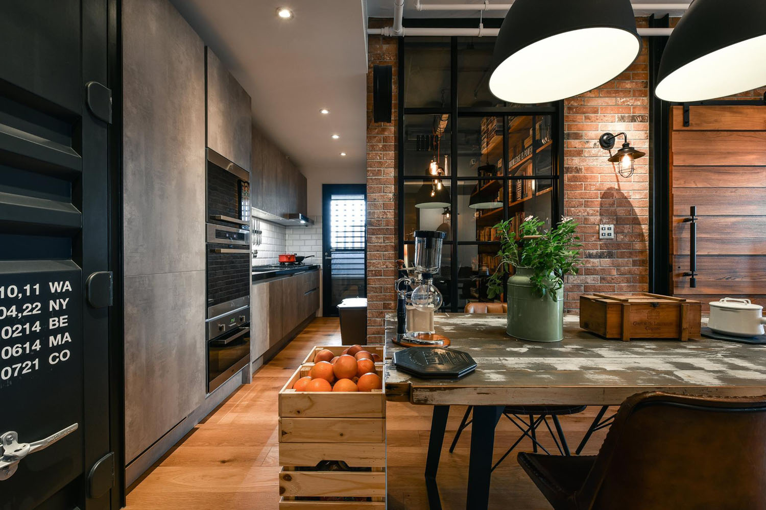 Charming Industrial Loft In New Taipei City Idesignarch Interior Design Architecture Interior Decorating Emagazine
