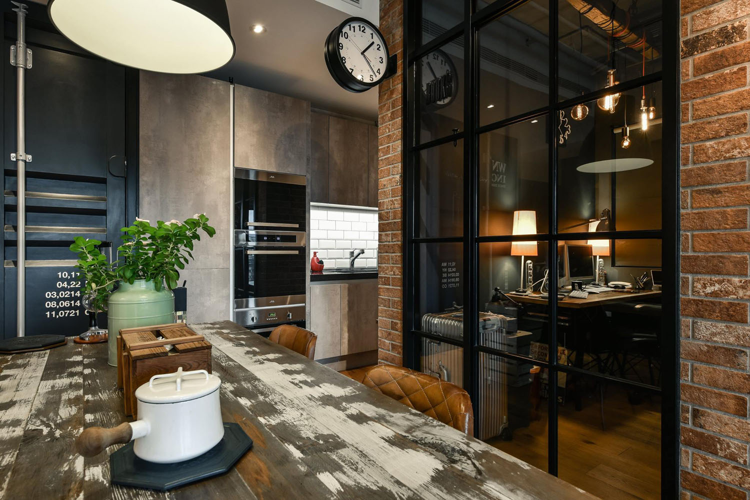 Charming Industrial Loft In New Taipei City Idesignarch Interior Design Architecture