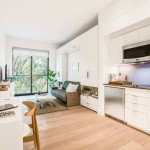 Prefab New York Micro-Unit Apartment Building Offers Affordable Quality Studio Living