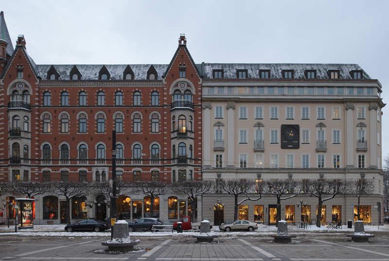 Nobis Hotel on Norrmalmstorg square in Stockholm