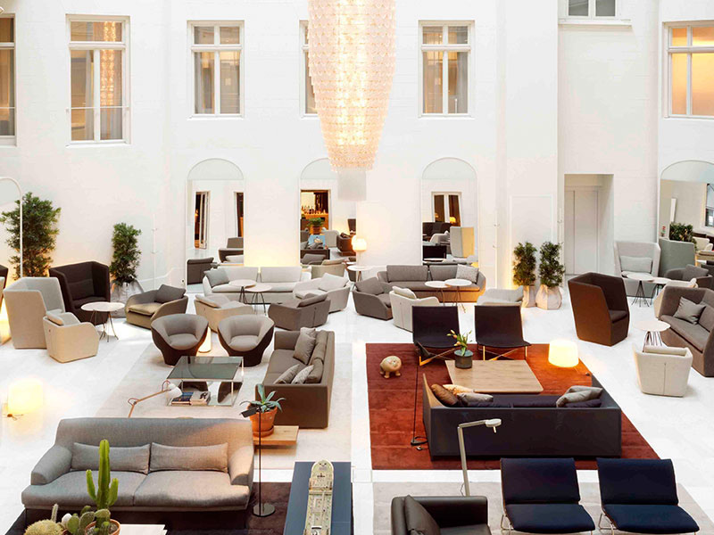 Nobis Hotel Stockholm With Stunning Glass Domes Idesignarch
