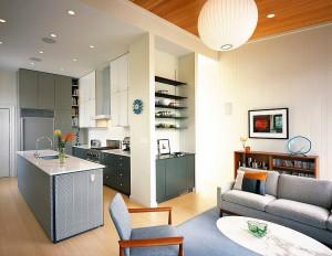 Contemporary Home with Scandinavian interior design