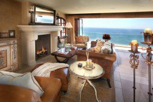 Ocean Front Mediterranean Style Home