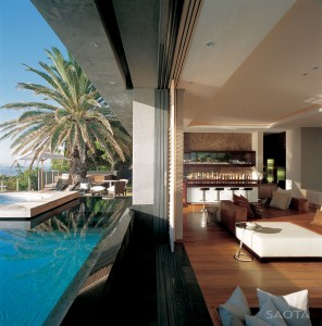 Contemporary Oceanfront House