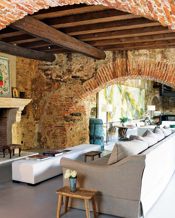 12th Century Oil Mill Converted Into Contemporary Home