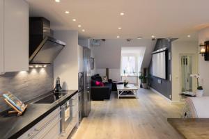 Stylist Small Modern Apartment Design