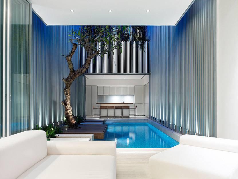 Open Plan Contemporary House In Singapore Idesignarch Interior