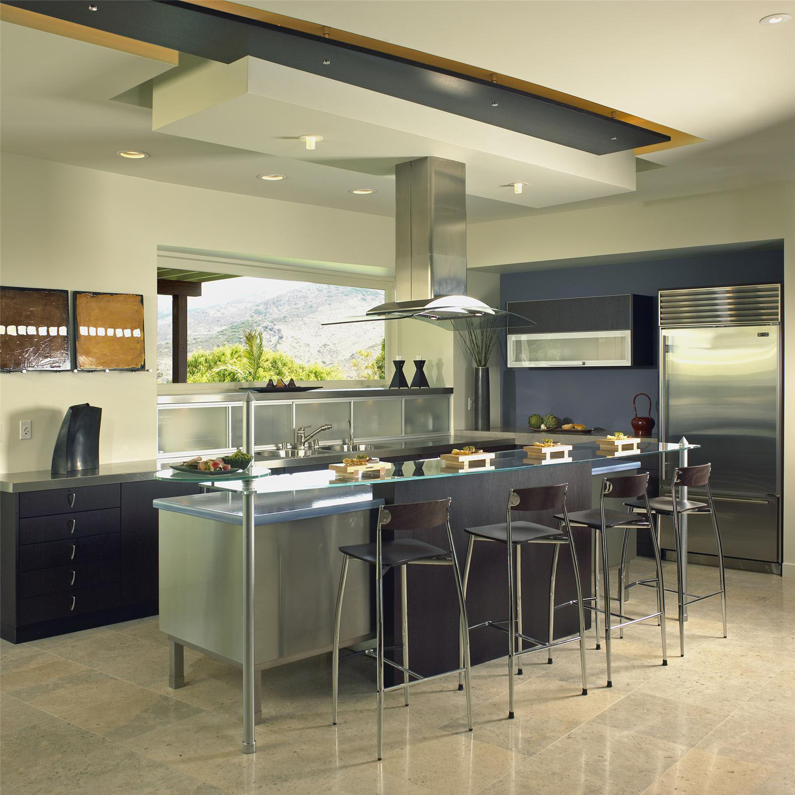 Kitchen Interior Design: Open Contemporary Kitchen Design Ideas