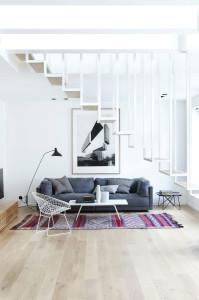 Scandinavian Style Modern Loft Apartment