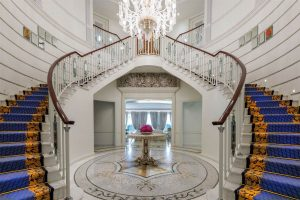 Opulent Grand Staircase