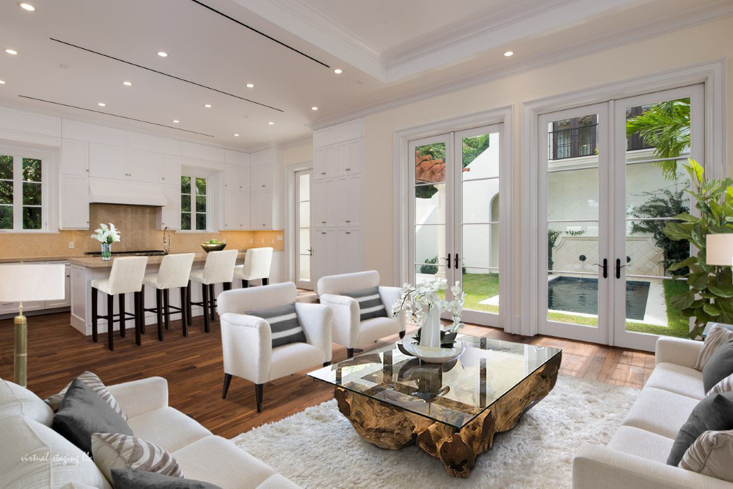 Interior Decorating: New Mediterranean Style Home In Palm Beach