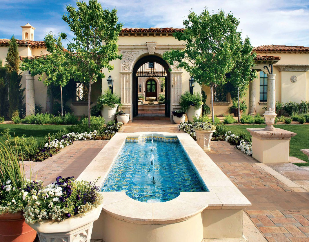 Timeless Beauty At Paradise Valley Home | iDesignArch | Interior ...