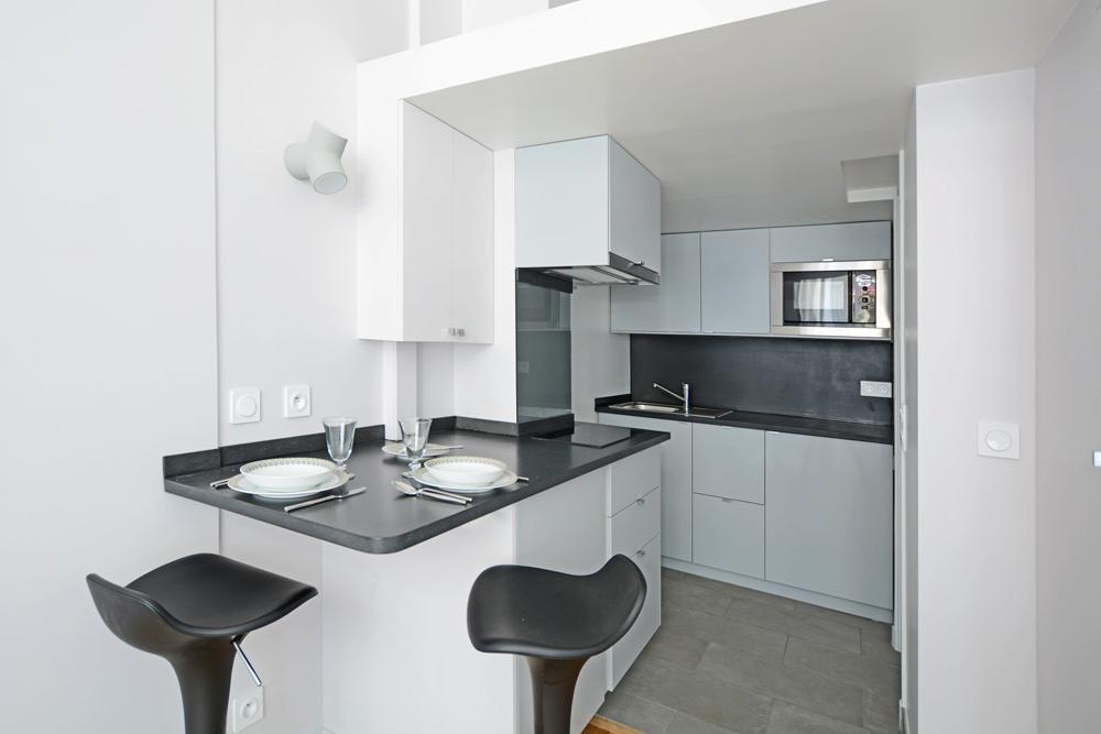 Small Studio Apartment Kitchen