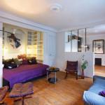 Paris Studio Apartment Merges Classic Contemporary With Minimalism