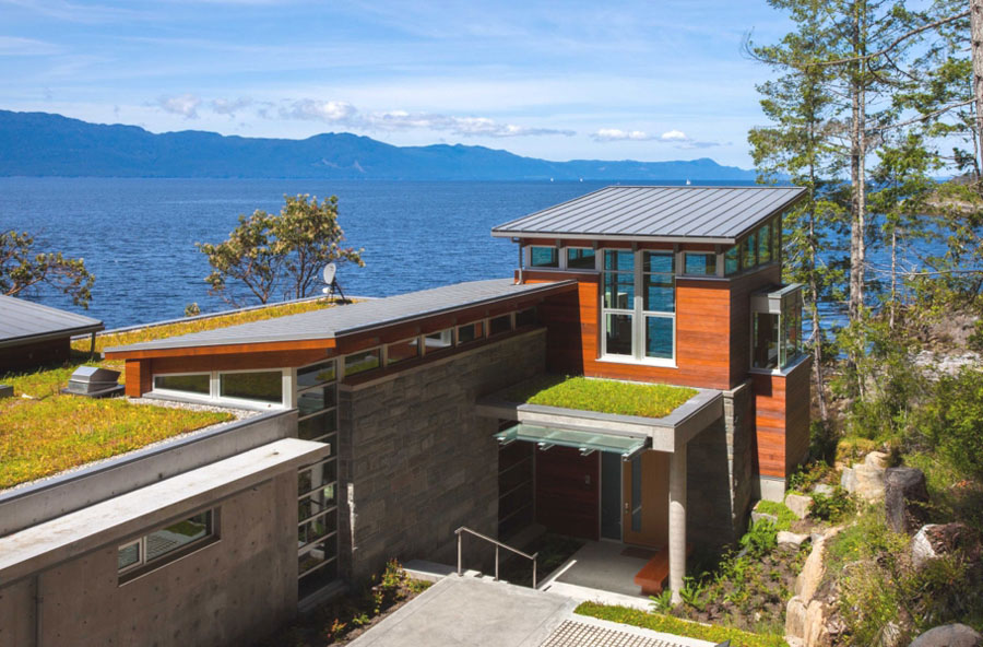 Energy Efficient Home on the Waterfront