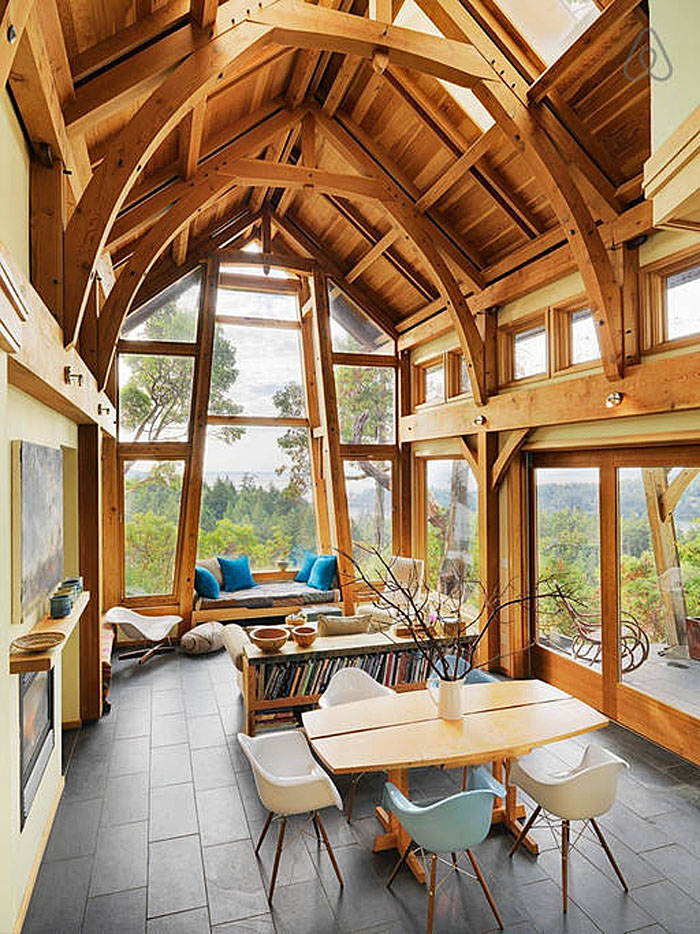 A Magical Cottage On Pender Island Idesignarch