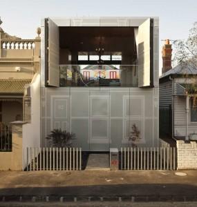 Perforated House by Kavellaris Urban Design (KUD)