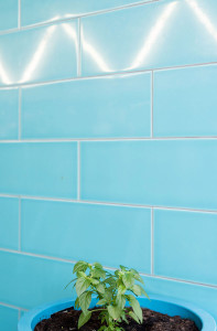turquoise blue wall tiles