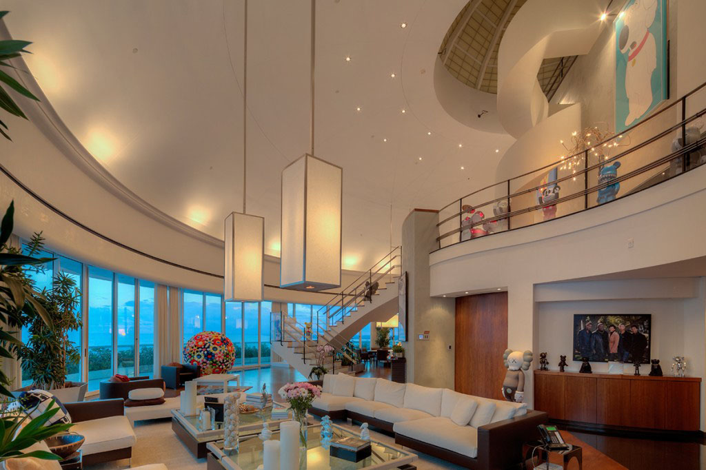 Inside Pharrell Williams Stunning Miami Waterfront Penthouse Idesignarch Interior Design Architecture Interior Decorating Emagazine