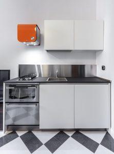 Small Corner Kitchen by Varenna