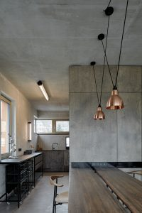 Industrial Loft Kitchen Design