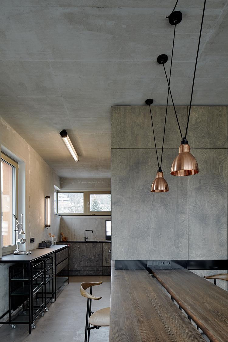Industrial Loft Kitchen Design