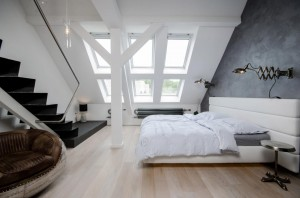 Attic Loft Apartment in Prague