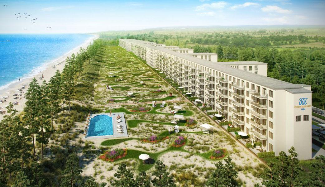 prora solitaire r gen island resort 1. Black Bedroom Furniture Sets. Home Design Ideas