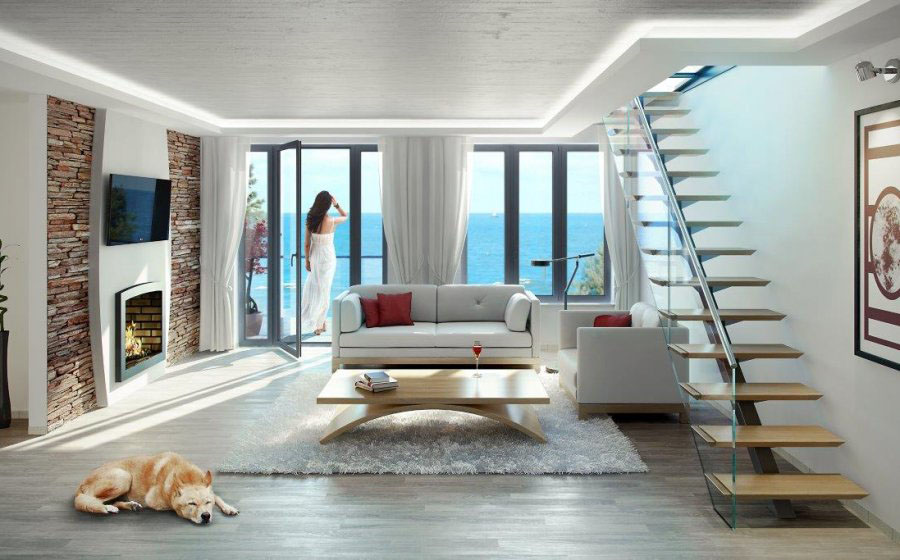 Luxury Ocean View Duplex Apartment
