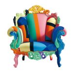 Multi-Coloured Armchair By Cappellini