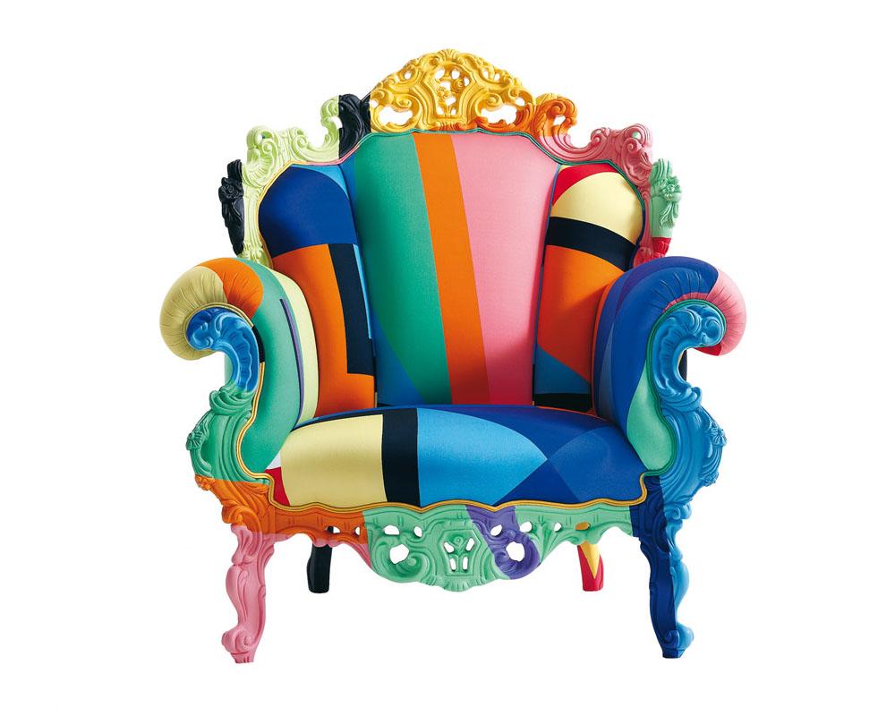 Multi Coloured Armchair By Cappellini Idesignarch