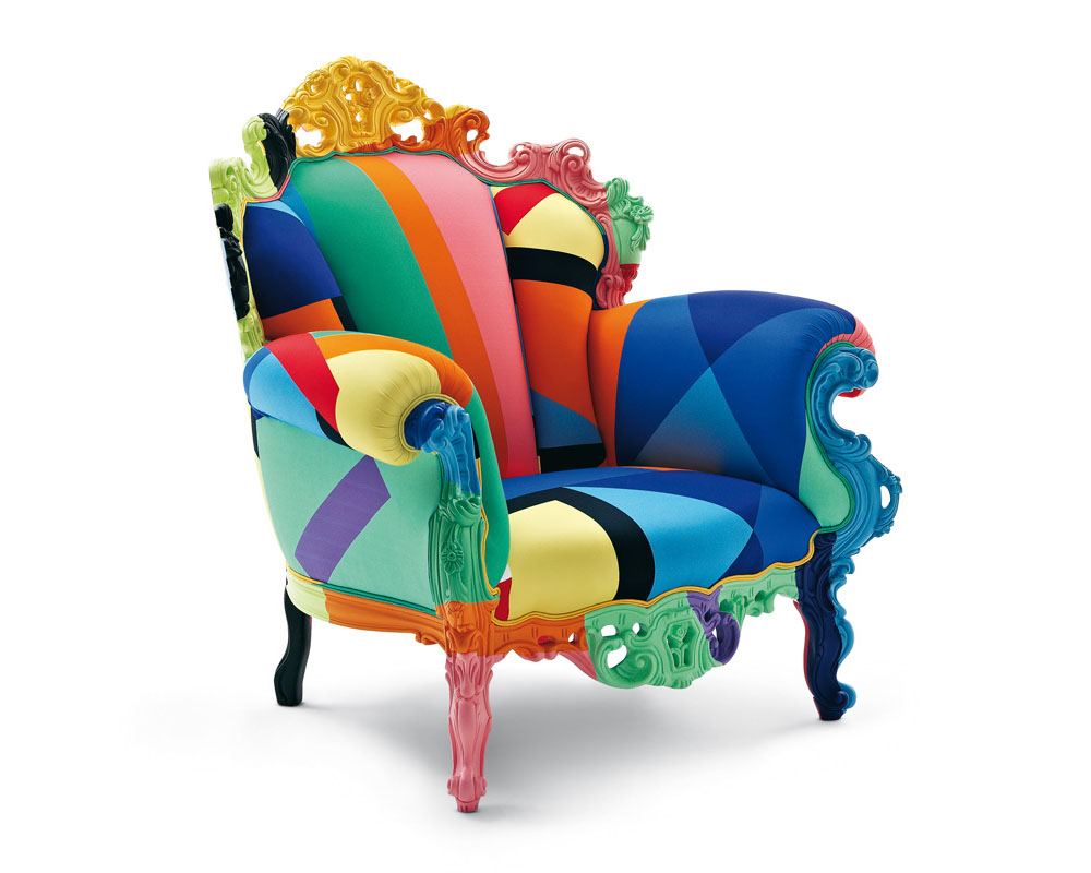 Multi Coloured Armchair By Cappellini Idesignarch