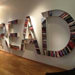 Read Bookshelves At NK Stockholm