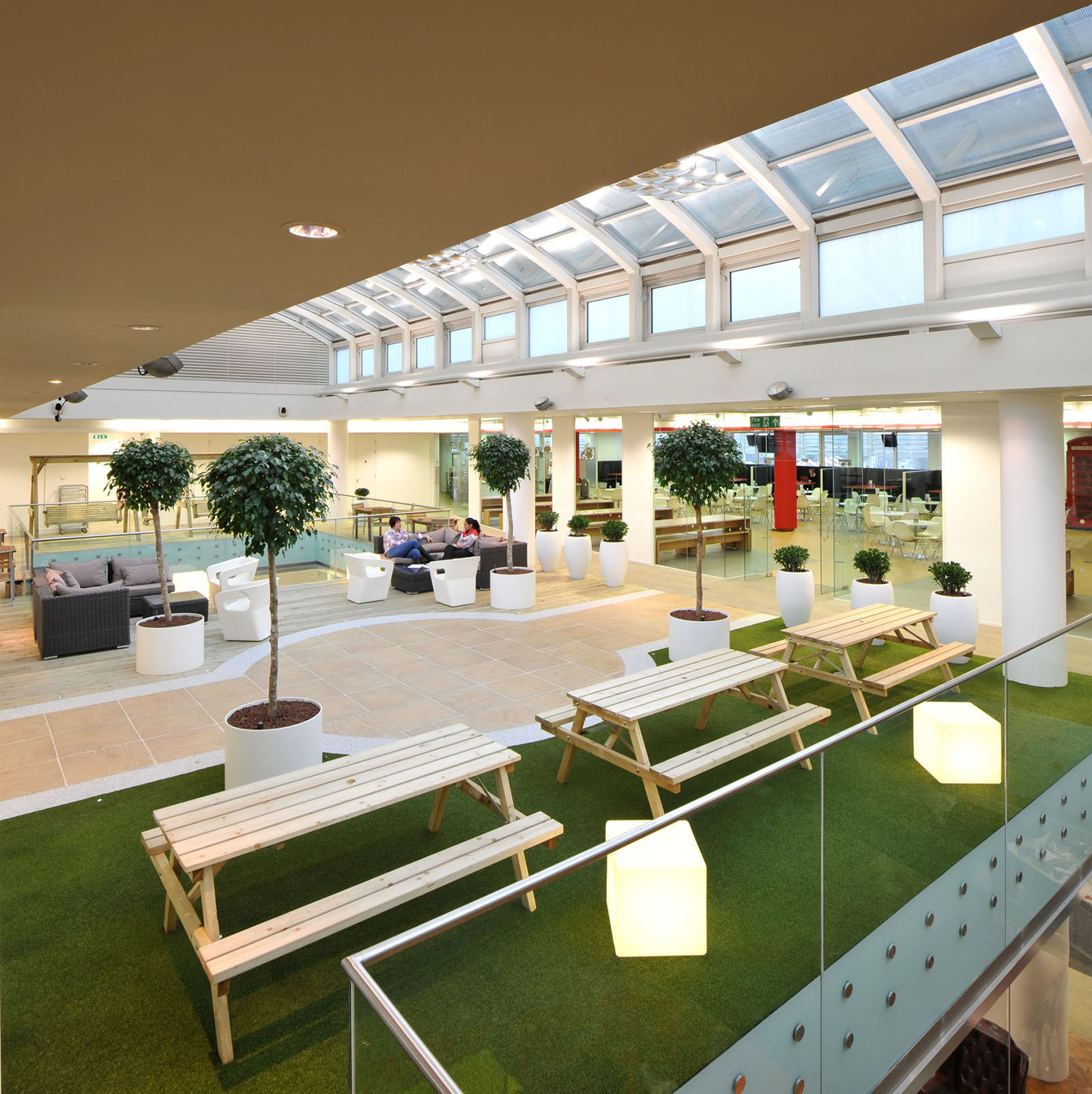 Office Interior Design Inspiration: Inspiring British Office Interior Design At Rackspace