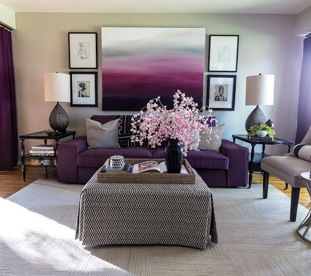Radiant Orchid Home Decor: Radiant-Orchid-Interior-Decor_6