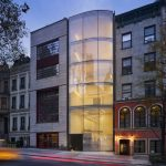 Architecturally Stunning Modern New York Townhouse with Bullet-Proof Windows