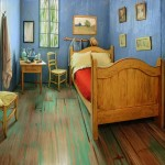 Step Inside The 3D Replica Of Vincent Van Gogh's Iconic Painting The Bedroom