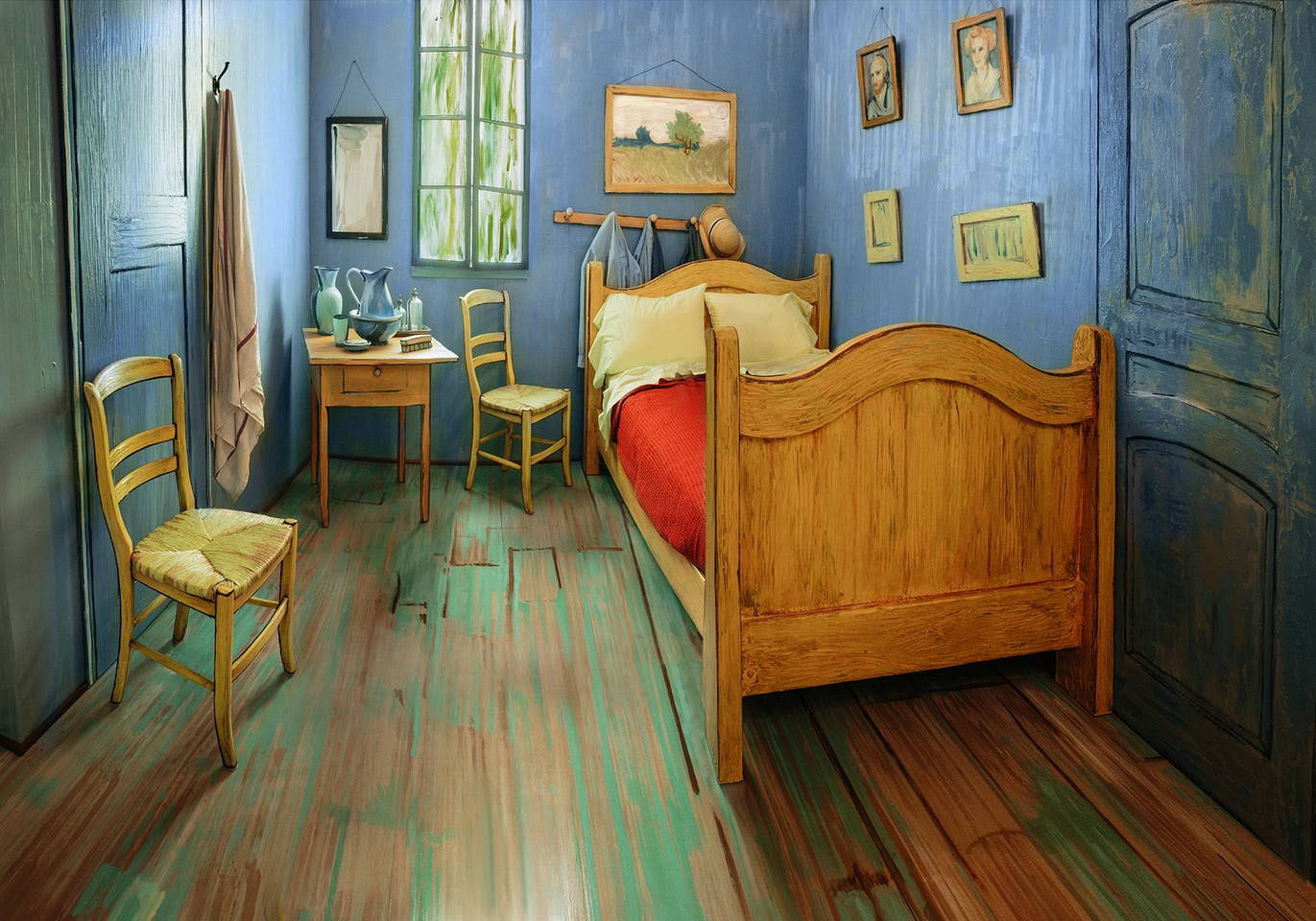 Post-Impressionist Style Bedroom Decor
