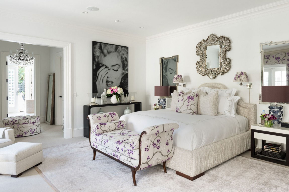 Elegant Bedroom Design Florida Style