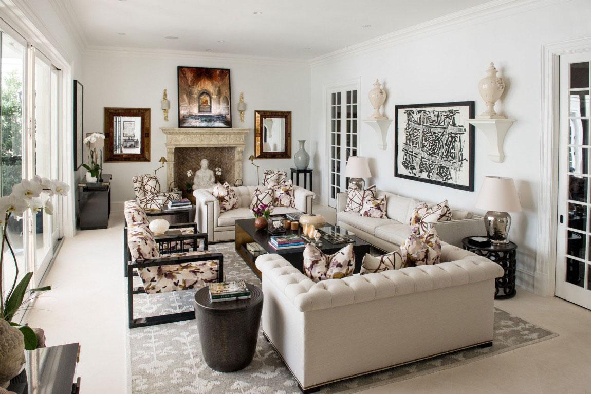 Elegant Regency-Style Palm Beach Villa Combines Classic And ...