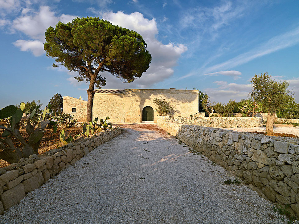 Southern Italy Ancient Stone House