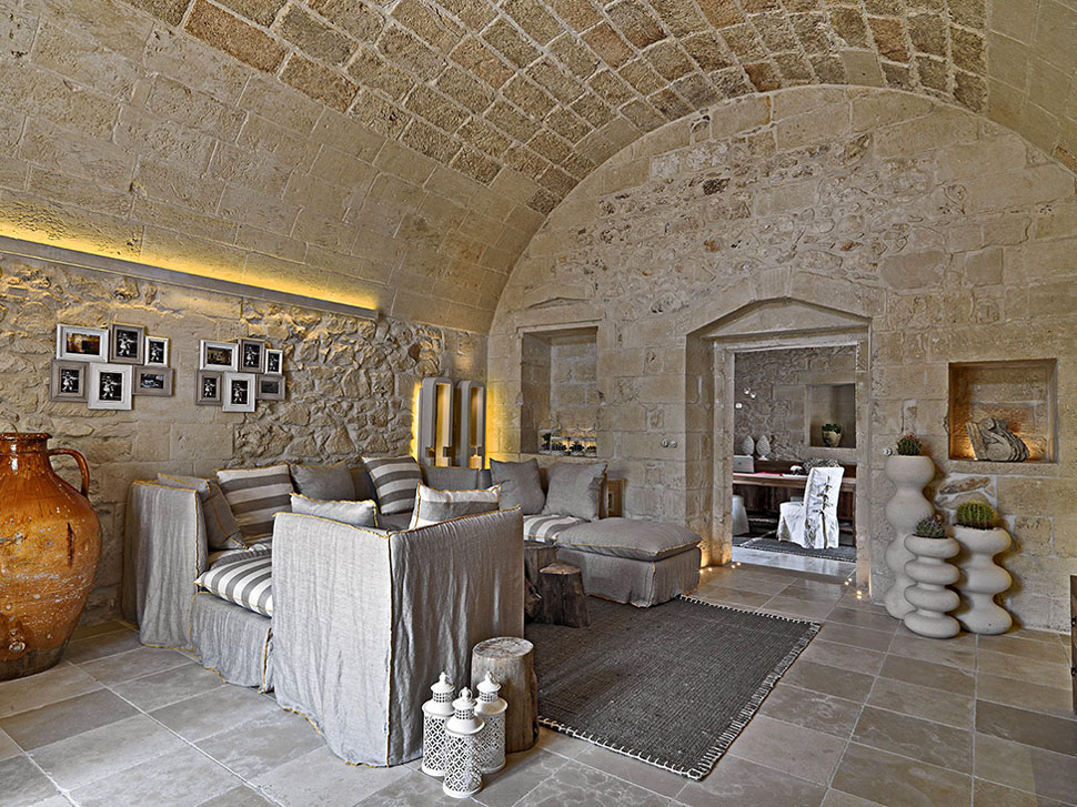 Restored Ancient Stone House Transformed Into Chic Hotel