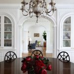 Crown Moulding Dominates This Updated Neoclassical American Federal Style Home