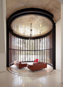 Contemporary Circular Living Room